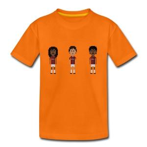 Kids T-Shirt - Dutch heroes in Milano - Kids' Premium T-Shirt