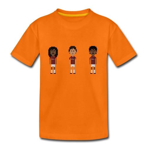 Kids T-Shirt - Dutch heroes in Milano - Kids' Premium T-Shirt