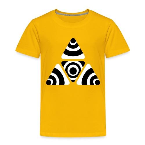 Zebra Triangle - Kinder Premium T-Shirt