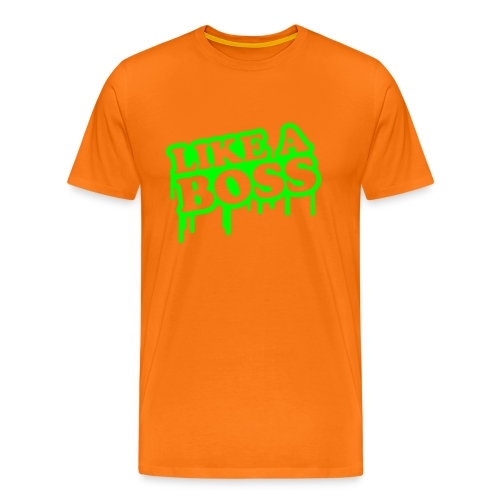 Like A Boss T-Shirt - Herre premium T-shirt