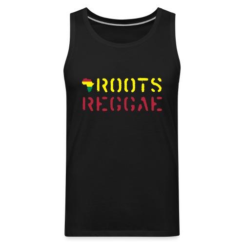 Roots Reggae Shirt - Männer Premium Tank Top
