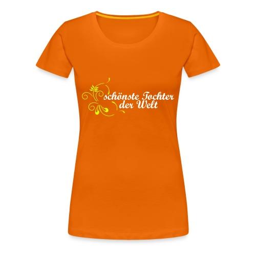 schönste Tochter der Welt - Frauen Premium T-Shirt