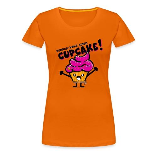 Cupcake - T-shirt Premium Femme