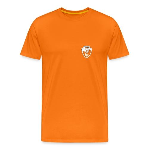 FC Lattentrappers T-shirt oranje - Mannen Premium T-shirt