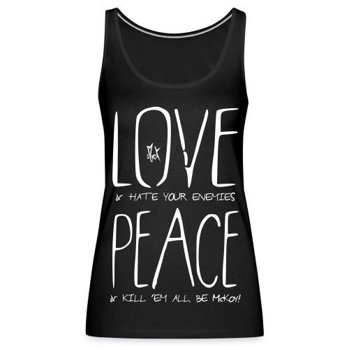 Wishes McKoy - Camiseta de tirantes premium mujer