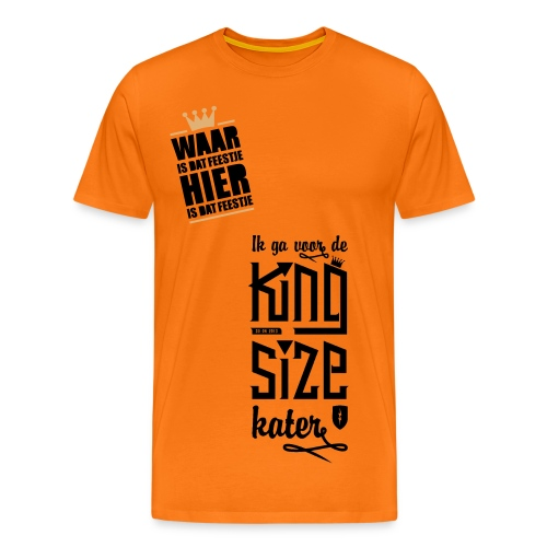 Kingsdayy - Mannen Premium T-shirt