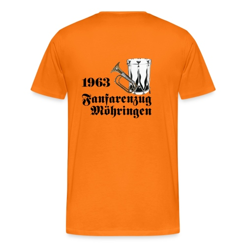 50 Jahre Fanfarenzug Möhringen - Männer Premium T-Shirt