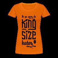T-shirts ~ Vrouwen Premium T-shirt ~ King size Kater