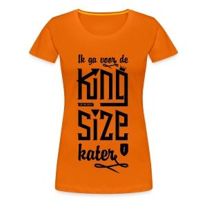 King size Kater - Vrouwen Premium T-shirt