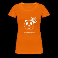 T-shirts ~ Vrouwen Premium T-shirt ~ Panda Queen II Wit