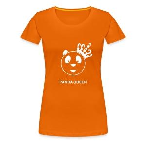 Panda Queen II Wit - Vrouwen Premium T-shirt