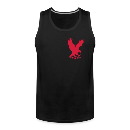 Hollow vains tank top - Men's Premium Tank Top