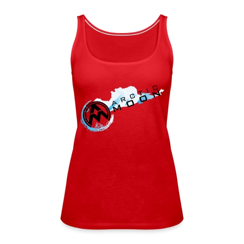 AM Diagonal Logo - Women's Premium Tank Top
