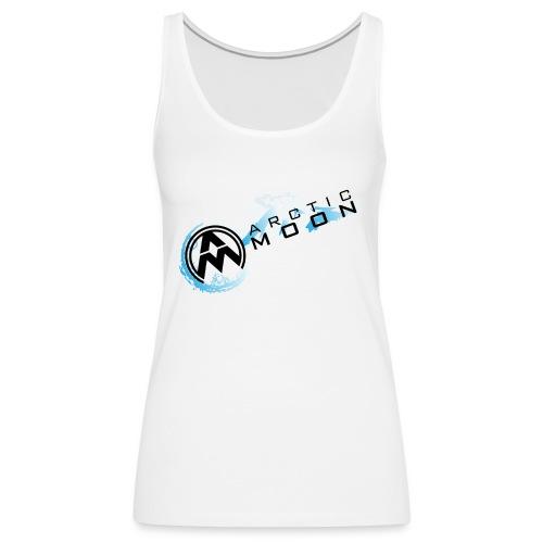 AM Diagonal Logo - Women's Premium Tank Top