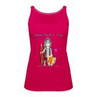 Tops ~ Camiseta de tirantes premium mujer ~ Sant Jordi & Tina