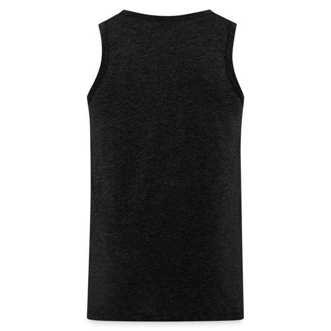 Equalizer Muskelshirt weiß/schwarz