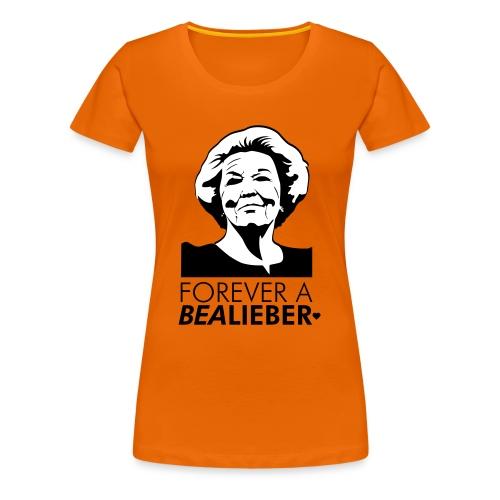 Bealieber vrouw - Vrouwen Premium T-shirt