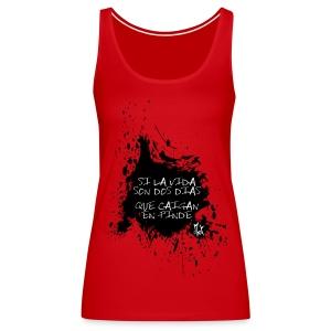 2 Dias McKoy - Camiseta de tirantes premium mujer