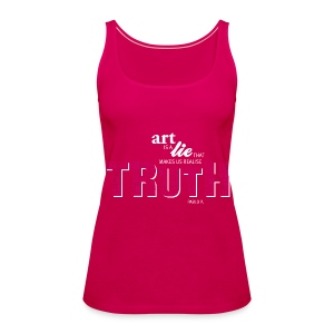 TRUTH Collection pi - Frauen Premium Tank Top