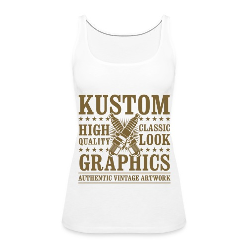 Kustom Tank Top - Frauen Premium Tank Top