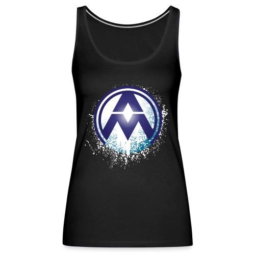AM Circle Logo - Women's Premium Tank Top