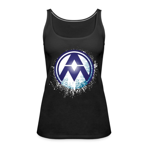 AM Circle Logo - Women's Premium Tank Top