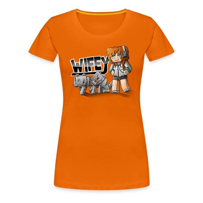 Women's Premium T-Shirt: Wifey