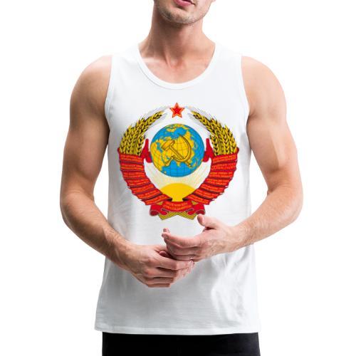 Герб СССР - Männer Premium Tank Top