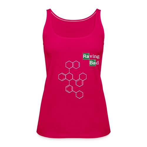 Raving Bad Top pink - Frauen Premium Tank Top