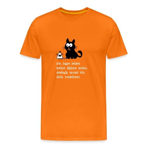 Die Maus ist gelutscht - Männer Premium T-Shirt