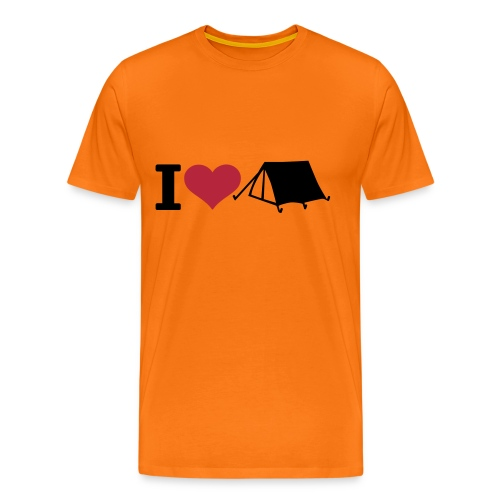 Happy Camper - Männer Premium T-Shirt