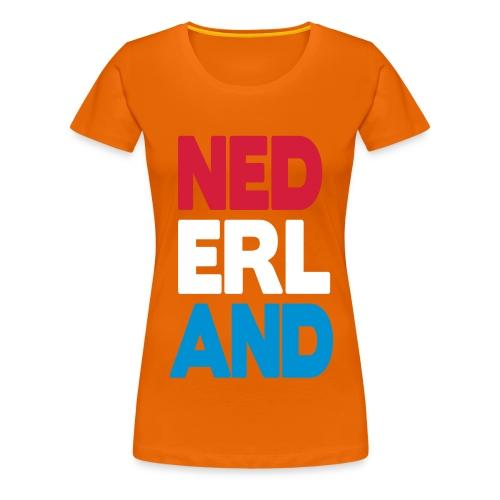 nl-vrouw - Vrouwen Premium T-shirt