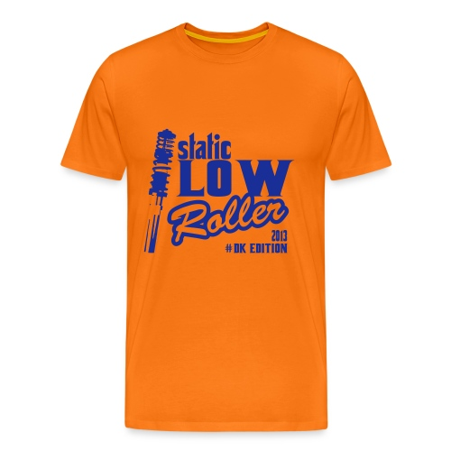 T-Shirt Static LOW! blau - Männer Premium T-Shirt