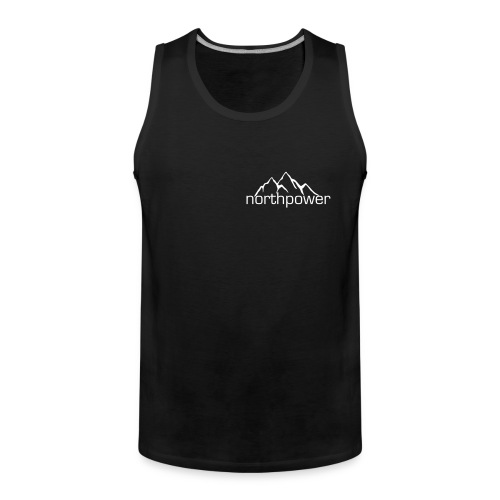 Northpower Cut-off T-shirt (sort) - Herre Premium tanktop