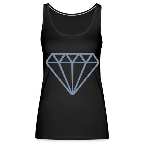 Diamond Tanktop - Vrouwen Premium tank top