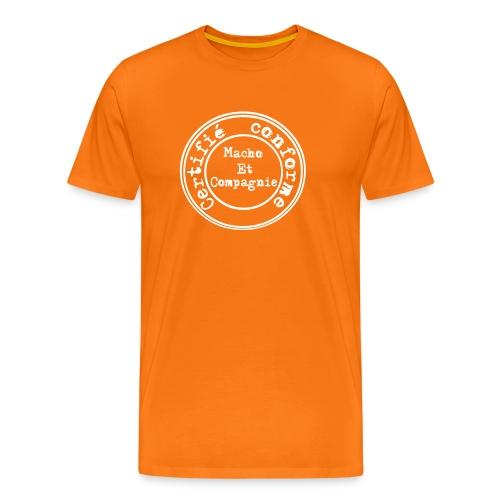 Certifié conforme - T-shirt Premium Homme