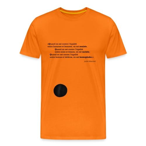 Quand on est… - T-shirt Premium Homme