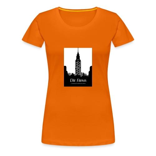 Die Firma official Fanshirtwomen  goldorange - Frauen Premium T-Shirt