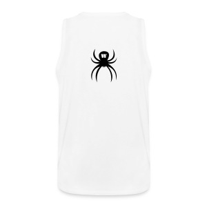 Black Spider, Men's Tank Top, white, F/B - Men's Premium Tank Top