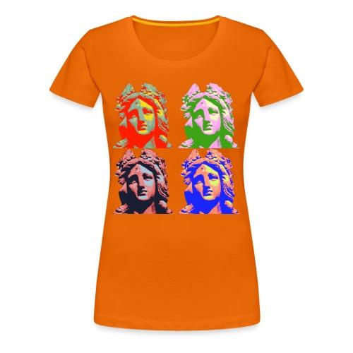 Popart - Frauen Premium T-Shirt