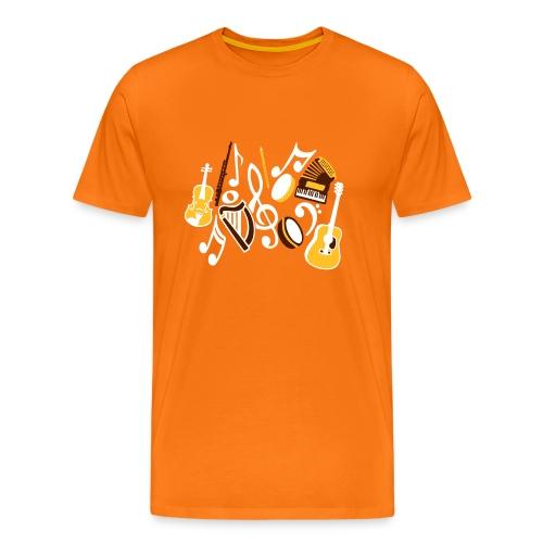 TTT Irish Music Fan - Men's Premium T-Shirt
