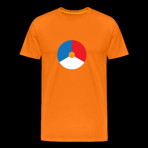 Dutch MOD Target - Mannen Premium T-shirt
