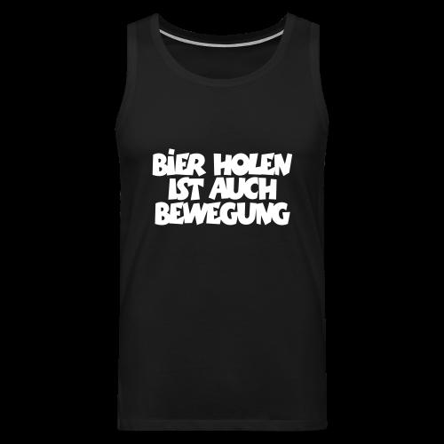 Bier holen Fitness T-Shirt - Männer Premium Tank Top