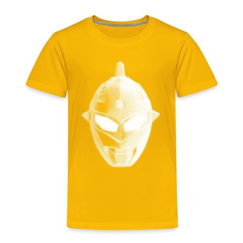 Tokusatsu - Enfant - Blanc sur Orangé - Kids' Premium T-Shirt