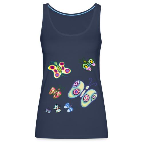 Allegria di farfalle - Canotta premium da donna