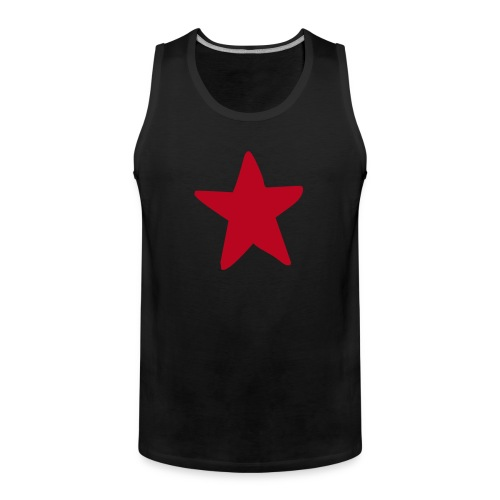 Roter Stern, Red Star - Männer Premium Tank Top