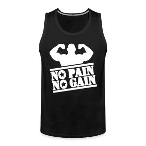 No Pain No Game - Men's Premium Tank Top