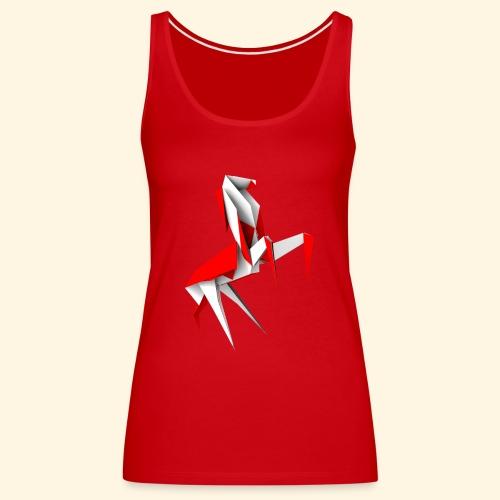 Frauen Tanktop - Origamipferd - Frauen Premium Tank Top
