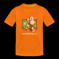 Paidat ~ Teinien premium t-paita ~ Aivoapina-paita nuorelle