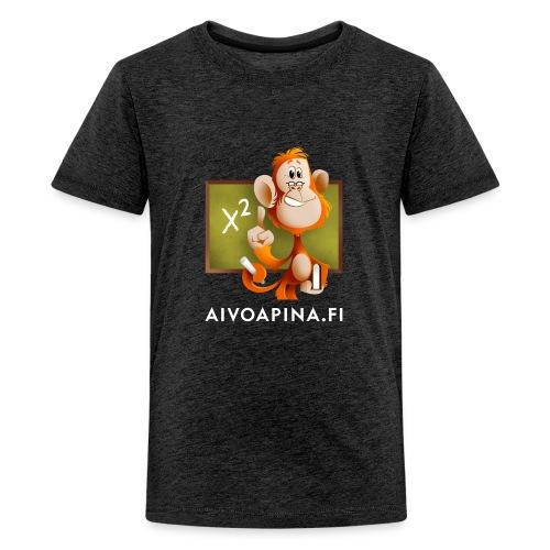 Aivoapina-paita nuorelle - Teinien premium t-paita